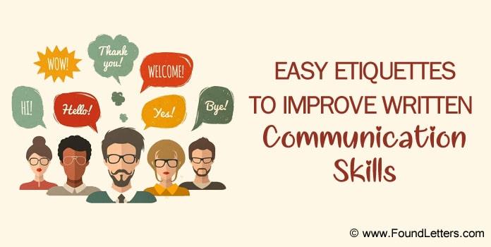 Communication Skills Etiquette, Communication Etiquette in the Workplace