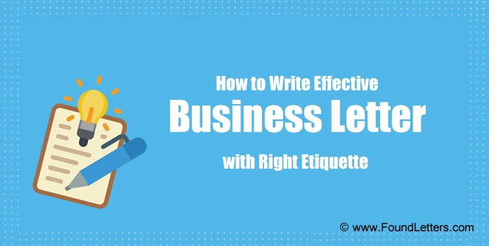 Business Letter Writing Etiquette, Business Letter Writing Tips