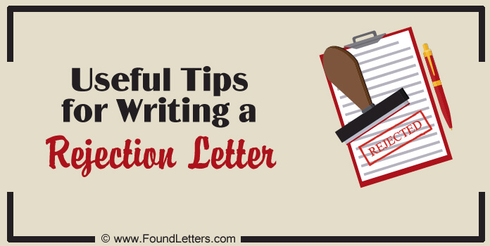 Job Candidate Rejection Letter Writing Tips Etiquette